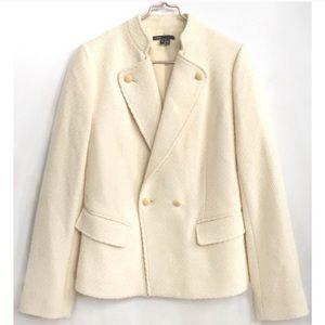 Vince cream wool blend blazer